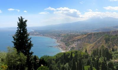 The Beaches of Taormina Sicily