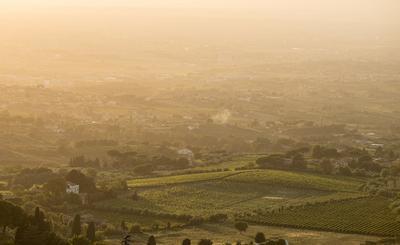 Frascati at Dusk - by Michelle Aschbacher