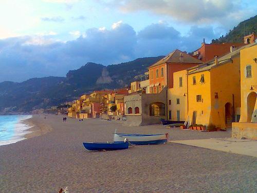 best beaches on the Italian riviera.