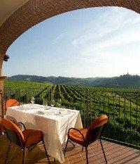 Piedmont Italy vineyards from the Tota Virginia